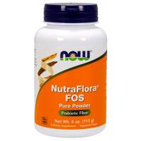 Nutraflora fos - 113g - Now Foods