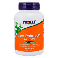 Saw palmetto extract 80mg - 90 softgels - Now Foods