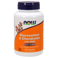 Glucosamine & chondroitin with msm - 90 capsules - Now Foods