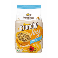 Muesli krunchy joy poppy and orange barnhouse - 375g