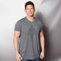 Faded joe supersoft tri-blend - Gold's Gym