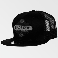 Vintage patch snapback - Gold's Gym