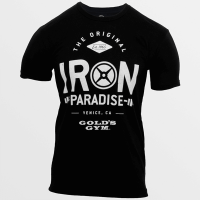Camiseta Iron Paradise de Gold's Gym