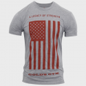 Legacy of strength flag tee