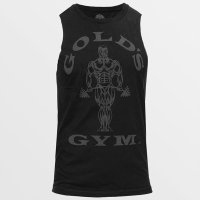 Camiseta sin Mangas Muscle Joe Cutoff de Gold's Gym