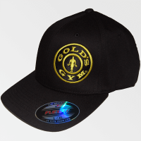 Gorra Offcenter Plate Flexfit - Gold's Gym