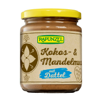 Cream of roasted almonds, coconut and datil (rapunzel) - 250g - Biocop