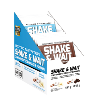 Shake and wait - 10 x 55g - Scitec Nutrition