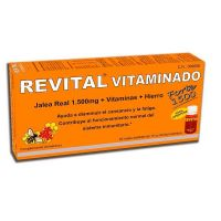 Revital vitaminado forte 1500 - 10ml x 20 vials -