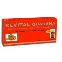 Revital Guaraná - 10ml x 20 viales