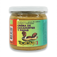 Peanut and raisin butter - 330g - Monki
