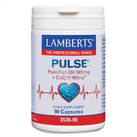 Pulse (pure fish oil 1300mg+coq10 100mg) - 90 capsules