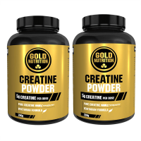 Pack Duo Creatine en Polvo Creapure- 2 x 280g - GoldNutrition