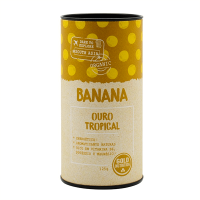 Organic banana powdered - 125g - GoldNutrition