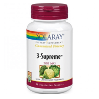 3 supreme 200mg - 30 vegetable capsules - Solaray