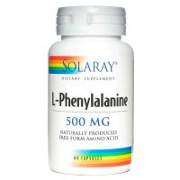 L - Phenylalanine 500mg - 60 Cápsulas [Solaray]