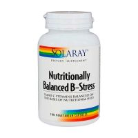 Nutritionally balanced b-stress - 100 vegetarian capsules - Solaray
