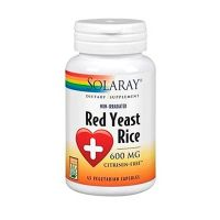 Red yeast rice 600mg - 45 vegetarian capsules - Solaray