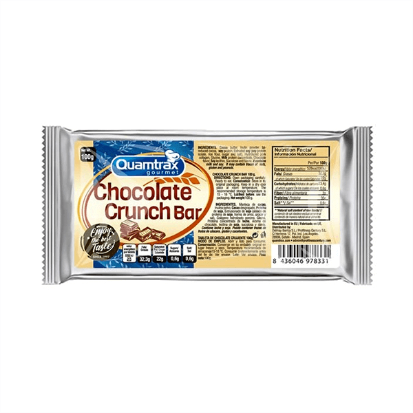 Chocolate crunch bar - 100g