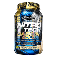 Nitro tech casein gold - 1,13 kg - Muscletech