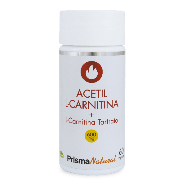 Acetyl l-carnitine tartrate 600mg - 60 capsules