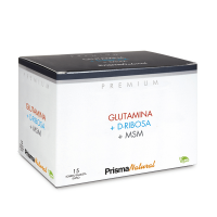 Glutamina + D-Ribosa + MSM - 30 Sticks [Prisma Natural]