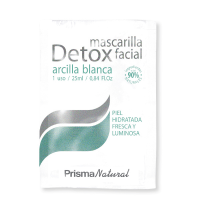 Detox facial mask - 50x25ml - Prisma Natural