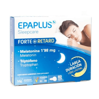 Sleepcare forte retard (melatonin and tryptophan) - 60 capsules - Epaplus