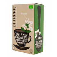 Organic liquorice refreshing infusion - 20 sachets - Clipper