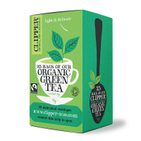 Organic green tea - 25 sachets - Clipper