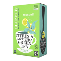 Citrus & aloe vera green tea - 20 sachets - Clipper