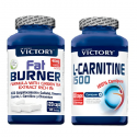 (Pack Duo) L-Carnitine 1500 + Fat Burner [Victory Weider]