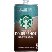 Starbucks doubleshot espresso (no sugar) - 200ml - Starbucks
