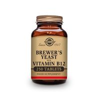 Brewer´s yeast with vitamin b12 - 250 tablets - Solgar