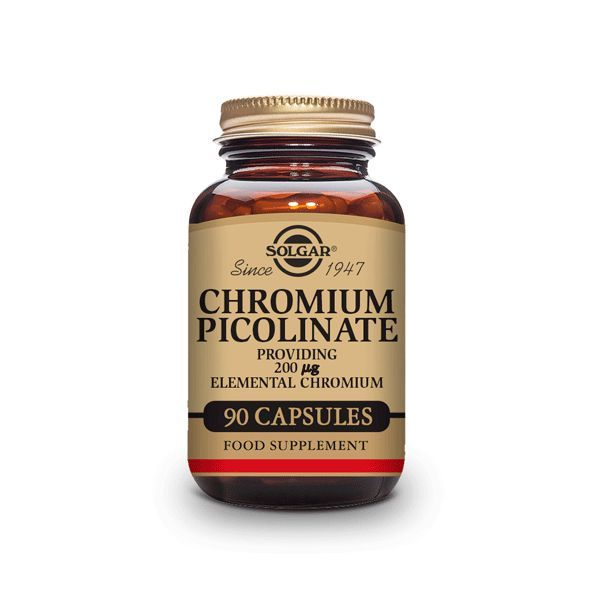 Chromium picolinate 200mg - 90 capsules