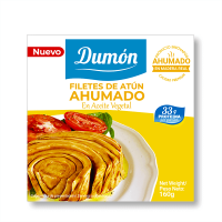 Smoked tuna steaks - 160g - Grupo Dumon