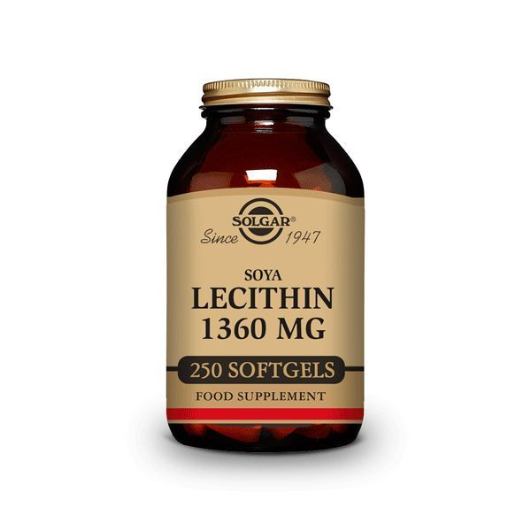 Lecithin 1360mg - 250 softgels