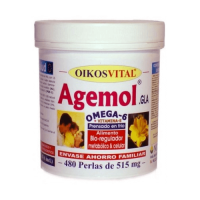 Agemol omega 6 - 480 softgels