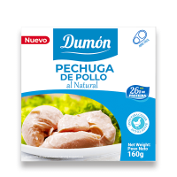 Natural chicken breast - 160g - Grupo Dumon