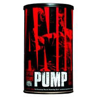 Animal Pump envase de 30 packs de la marca Animal (Pre-Entrenamiento)