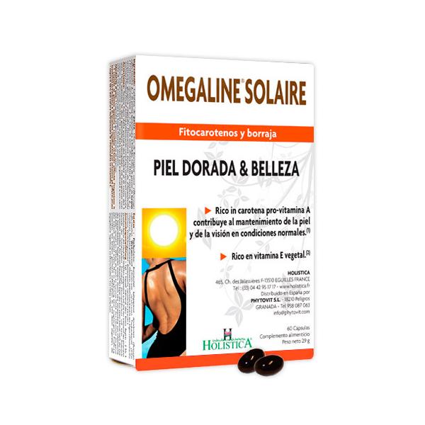 Omegaline Solar de 60 cápsulas de la marca Holistica (Aceites Vegetales)