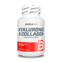 Hyaluronic Acid and Collagen - 30 Capsules