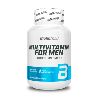 Multivitamin for Men envase de 60 tabletas del fabricante Biotech USA (Complejos Multivitaminicos)