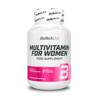 Multivitamin for Women de 60 tabletas de Biotech USA (Complejos Multivitaminicos)