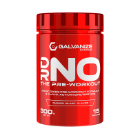 Dr. NO the pre-workout de 300g del fabricante Galvanize Nutrition (Óxido Nítrico)