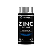 Zinc 20mg - 100 tabletas [Galvanize Nutrition]