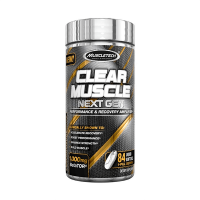 Clear muscle next gen - 84 liquid softgels - Muscletech