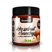 Hazelnut crunchy with pea protein - 250g - Quamtrax