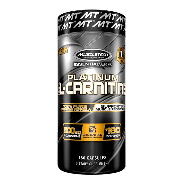 Platinum 100% Carnitine - 180 caps