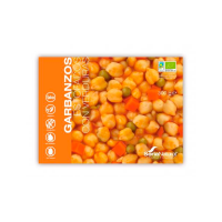 Stewed chickpeas with vegetables - 300g - Soria Natural